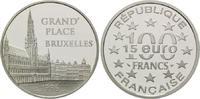 100 Francs / 15 Euro 1996, Frankreich, Brüssel, PP  24,00 EUR kostenloser Versand