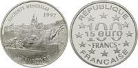 100 Francs / 15 Euro 1997, Frankreich, Luxemburg, PP  24,00 EUR kostenloser Versand