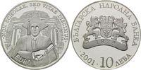 10 Lewa 2001, Bulgarien, Non scholae, sed vitae discimus, PP  21,00 EUR kostenloser Versand