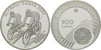 100 Tenge 2004, Kasachstan, Olympischen Sommerspiele 2004 in Athen, PP  26,00 EUR kostenloser Versand