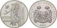 10 Dollars 2003, Sierra Leone, Olympische Sommerspiele 2004 in Athen, PP  29,00 EUR kostenloser Versand