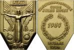 Messing-Medaille 1954, Schweiz, FIFA-Siegermedaille der Fußball-Weltmei... 25,00 EUR kostenloser Versand