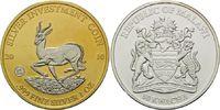 50 Kwacha 2010, Malawi, Springbock, Teilvergoldet und -rhodiniert, st  45,00 EUR kostenloser Versand