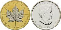 5 Dollars 2010, Kanada, Maple Leaf, Teilvergoldet und -rhodiniert, st  39,00 EUR kostenloser Versand