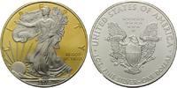 Dollar 2010, USA, American Eagle, Teilvergoldet und -rhodiniert, st  45,00 EUR kostenloser Versand