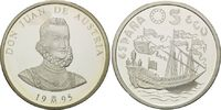 5 Ecu 1995, Spanien, Don Juan de Austria, Orig.-Etui, PP  38,00 EUR kostenloser Versand