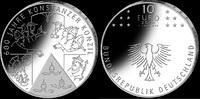 10 Euro 2014, Deutschland, 600 Jahre Konstanzer Konzil, Folder, PP  36,00 EUR kostenloser Versand