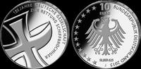 10 Euro 2015, Deutschland, 150 Jahre Deutsche Gesellschaft zur Rettung ... 36,00 EUR kostenloser Versand