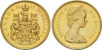 20 Dollars 1967, Kanada, Elisabeth II., seit 1952, winziger Einhieb, kl... 755,00 EUR kostenloser Versand