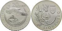 20 Euro 2009, Slowakei, Nationalpark, st  36,00 EUR kostenloser Versand