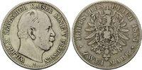 2 Mark 1884 A, Preussen, Wilhelm I., 1861-1888, s-ss  130,00 EUR125,00 EUR kostenloser Versand