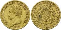 20 Lire 1828 L, Sardinien, Karl Felix, 1765-1831, kl.Rdf, ss  385,00 EUR kostenloser Versand