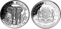 1000 Shillings 2004, Somalia, African Wildlife - Elefant, st  123,00 EUR kostenloser Versand