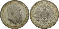 5 Mark 1911 D, Bayern, Zum 90. Geburtstag und zum 25. Regentschaftsjubi... 89,00 EUR kostenloser Versand