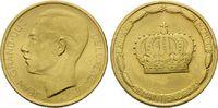 20 Francs 1964, Luxemburg, Krönung Großherzog Jeans, Felder bearb., fei... 335,00 EUR kostenloser Versand