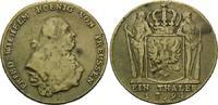 Taler 1794 A, Brandenburg-Preussen, Friedrich Wilhelm II., 1786-1797, z... 48,00 EUR kostenloser Versand