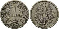 Mark 1885 A, Kaiserreich, Kleinmünze, ss  8,00 EUR  zzgl. 6,40 EUR Versand