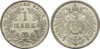 Mark 1907 G, Kaiserreich, Kleinmünze, winz.Kr., st  110,00 EUR kostenloser Versand