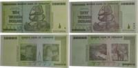 Lot Banknoten 2008, Zimbabwe, Satz Banknoten, Zertifikat, bankfrisch  25,00 EUR kostenloser Versand