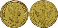 Oncia d´oro 1735, Italien/Sizilien, Karl v...