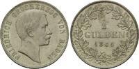 1/2 Gulden 1864, Baden, Friedrich I., 1856-1907, winz.Kratzer, vz+  156,00 EUR kostenloser Versand
