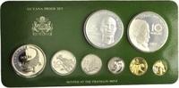 Proof-Set 1976, Guyana, Kursmünzensatz der Franklin Mint, Orig.-Etui, Z... 45,00 EUR kostenloser Versand