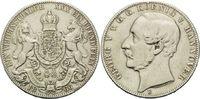 Vereinstaler 1866 B, Hannover, Georg V., 1851-1866, Hsp., gereinigt, ss  52,00 EUR kostenloser Versand