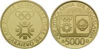 5000 Dinara 1982, Jugoslawien, Olympische Winterspiele 1984 in Sarajevo... 395,00 EUR380,00 EUR kostenloser Versand