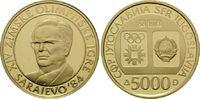 5000 Dinara 1983, Jugoslawien, Olympische Winterspiele 1984 in Sarajevo... 350,00 EUR kostenloser Versand