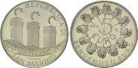 2 Euro 2002, San Marino, Einführung des Euro Bargeldes, l.pat.PP  18,00 EUR kostenloser Versand