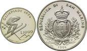 1000 Lire 1994, San Marino, Olympische Winterspiele 1994 in Lillehammer... 11,00 EUR kostenloser Versand