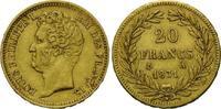 20 Francs 1831 A, Frankreich, Louis Philippe I., 1830-1848, kl.Randfehl... 365,00 EUR345,00 EUR kostenloser Versand