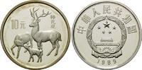 10 Yuan 1989, China, Japanische Hirsche, offene PP  78,00 EUR kostenloser Versand