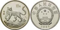 10 Yuan 1992, China, Schneeleopard, offene PP  52,00 EUR kostenloser Versand