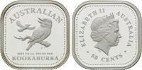50 Cents 2003, Australien, Kookaburra, viereckig, Orig.-Etui u. Zertifi... 195,00 EUR kostenloser Versand