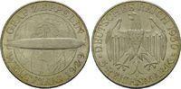 5 Reichsmark 1930 D, Weimarer Republik, Weltflug Graf Zeppelin 1929, vz... 195,00 EUR kostenloser Versand