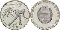 500 Won 1993, Korea, Olympische Winterspiele 1994 in Lillehammer, Eissc... 28,00 EUR kostenloser Versand