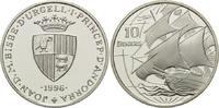 10 Diners 1996, Andorra, Segelschiff, PP  29,00 EUR kostenloser Versand