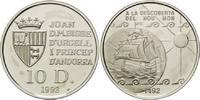 10 Diners 1992, Andorra, Geschichte der Seefahrt - Karavelle auf Globus... 26,00 EUR kostenloser Versand