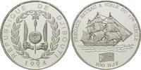 100 Francs 1994, Dschibuti, Geschichte der Seefahrt - Fregatte 17.Jh. P... 29,00 EUR kostenloser Versand