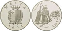5 Pfund (Liri) 1994, Malta, Geschichte der Seefahrt - Schoner 'Valletta... 29,00 EUR kostenloser Versand