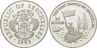 25 Rupien 1993, Seychellen, Geschichte der Seefahrt - Landung der Franz... 26,00 EUR kostenloser Versand
