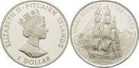 5 Dollars 1993, Bahamas, Geschichte der Seefahrt - Galeone zwischen Mar... 29,00 EUR kostenloser Versand