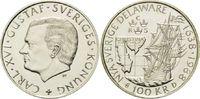 100 Kronen 1988, Schweden, 350 Jahre Landung schwedischer Siedler in De... 24,00 EUR kostenloser Versand