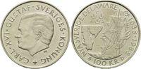 100 Kronen 1988, Schweden, 350 Jahre Landung schwedischer Siedler in De... 18,00 EUR kostenloser Versand