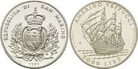 5000 Lire 1995, San Marino, Segelschulschiff 'Amerigo Vespucci', PP ... 16,00 EUR kostenloser Versand