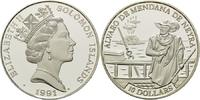 10 Dollars 1991, Salomonen, Geschichte der Seefahrt - Álvaro de Mendana... 28,00 EUR kostenloser Versand