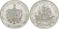 10 Pesos 1992, Kuba, Kubanische Postgeschichte - Postschiff, offene PP ... 25,00 EUR kostenloser Versand