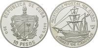 10 Pesos 1992, Kuba, Kubanische Postgeschichte - Besegeltes Dampfschiff... 25,00 EUR  zzgl. 6,40 EUR Versand