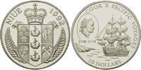10 Dollars 1992, Niue, Große Entdecker - James Cook pazifische Reise mi... 29,00 EUR kostenloser Versand